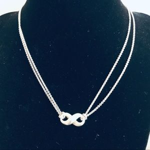Tiffany & Co. Infinity Necklace in Sterling Silver